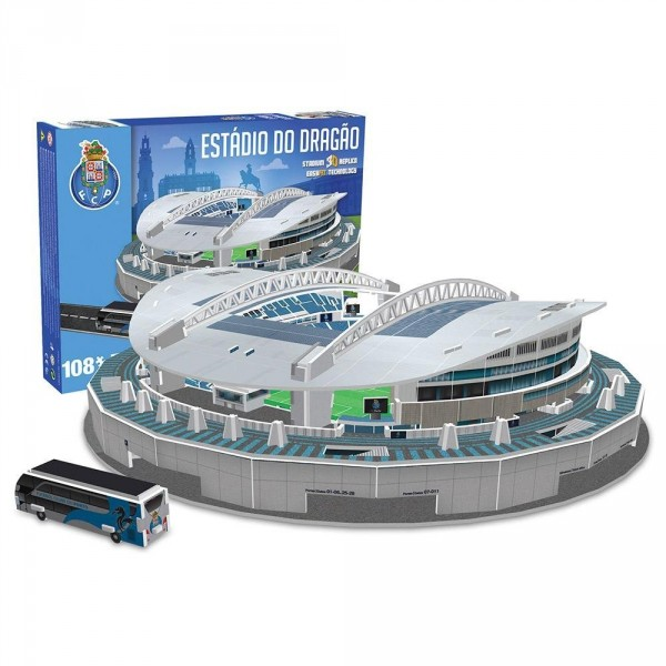 Puzzle Nanostad Estadio Do Dragao, Oporto FC 3D 135 Piezas