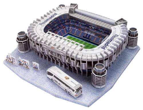 Puzzle Nanostad Estadio Santiago Bernabéu Real Madrid CF 3D 160