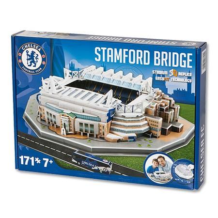 Puzzle Nanostad Estadio Stamford Bridge, Chelsea , 171 Piezas 3D