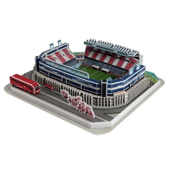 Puzzle Nanostad Estadio Vicente Calderón, Atlético de Madrid 3D