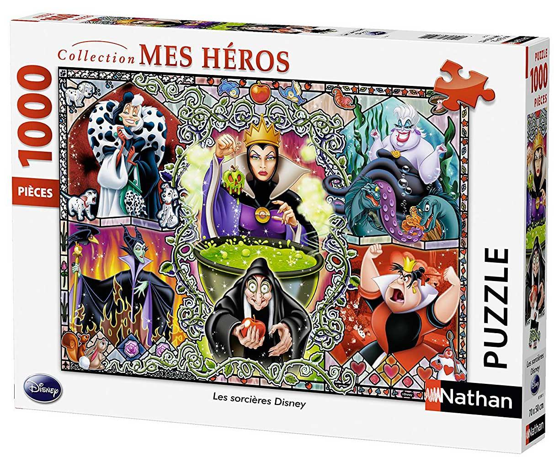 Puzzle Nathan Villanas Disney de 1000 Piezas