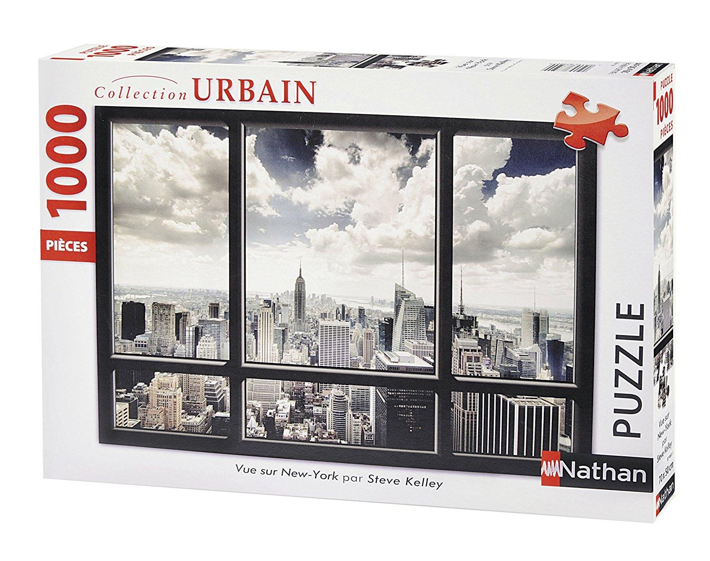 Puzzle Nathan Vista de Nueva York de 1000 Piezas