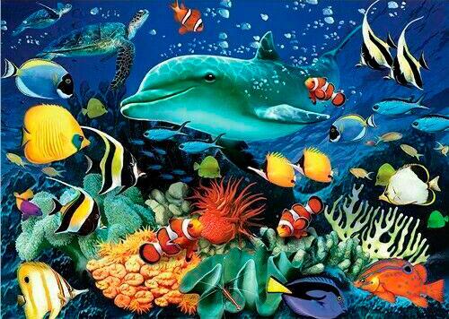 Puzzle Otter House Arrecife de Coral de 1000 Piezas