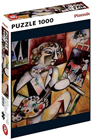 Puzzle Piatnik Autorretrato con Siete Dedos de 1000 Piezas