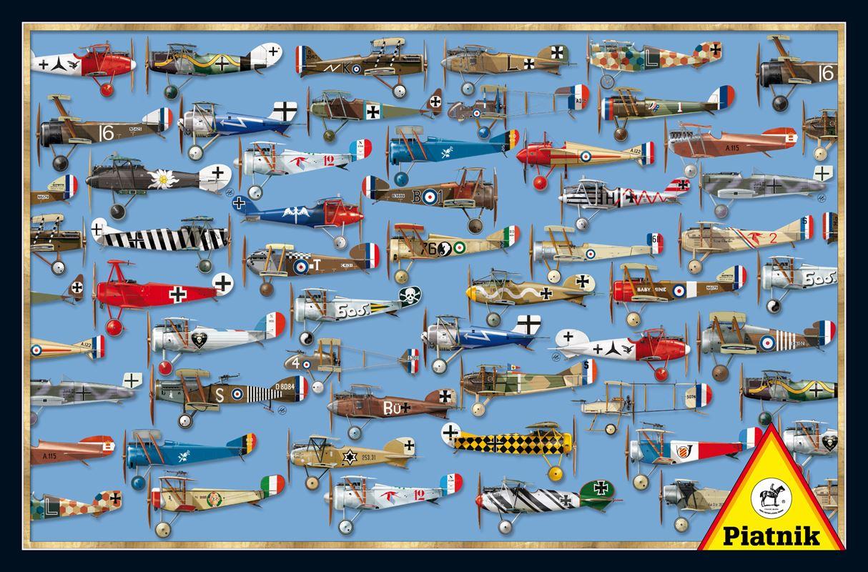 Puzzle Piatnik Aviones de Combate de 1000 Piezas