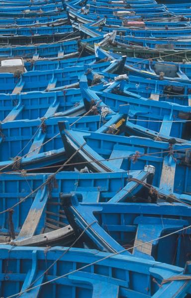 Puzzle Piatnik Barcos Azules de 1000 Piezas