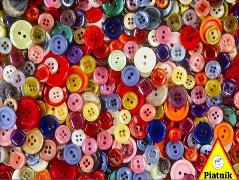 Puzzle Piatnik Botones de 1000 Piezas