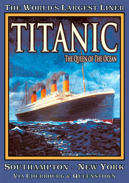 Puzzle Piatnik Cartel Titanic de 1000 Piezas
