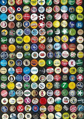 Puzzle Piatnik Chapas de Cervezas de 1000 Piezas