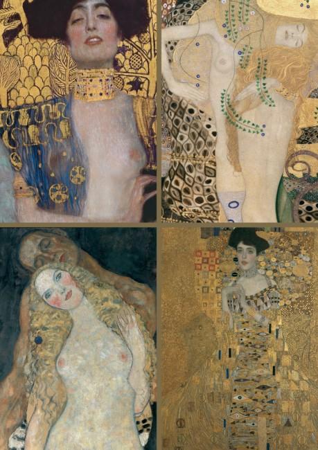 Puzzle Piatnik Colección de Klimt de 1000 Piezas
