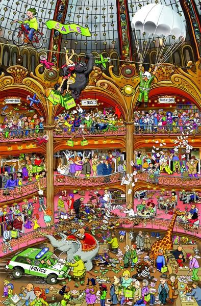 Puzzle Piatnik Congreso de Ventas de 1000 Piezas