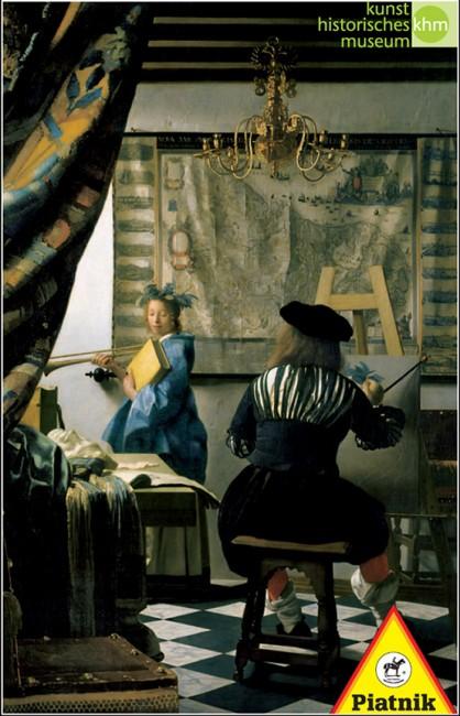Puzzle Piatnik El Arte de la Pintura de 1000 Piezas