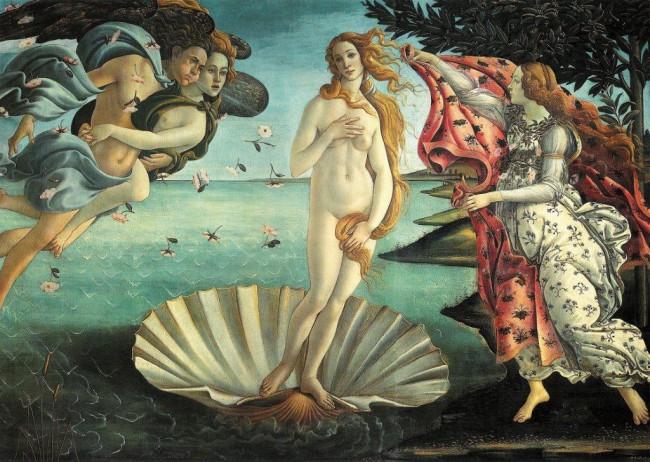 Puzzle Piatnik El Nacimiento de Venus de 1000 Piezas