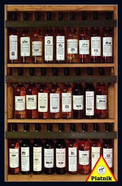 Puzzle Piatnik Galería de Whisky de 1000 Piezas