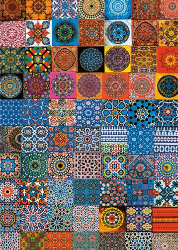 Puzzle Piatnik Imanes de Nevera de Colores de 1000 Piezas