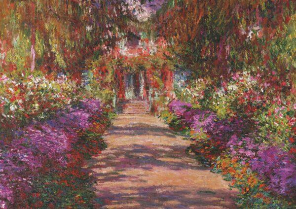 Puzzle Piatnik Jardines de Monet en Giverny de 1000 Piezas