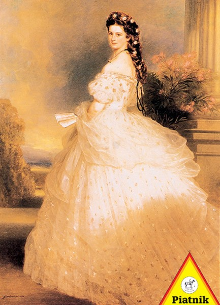 Puzzle Piatnik La Emperatriz Isabel de Austria de 1000 Piezas