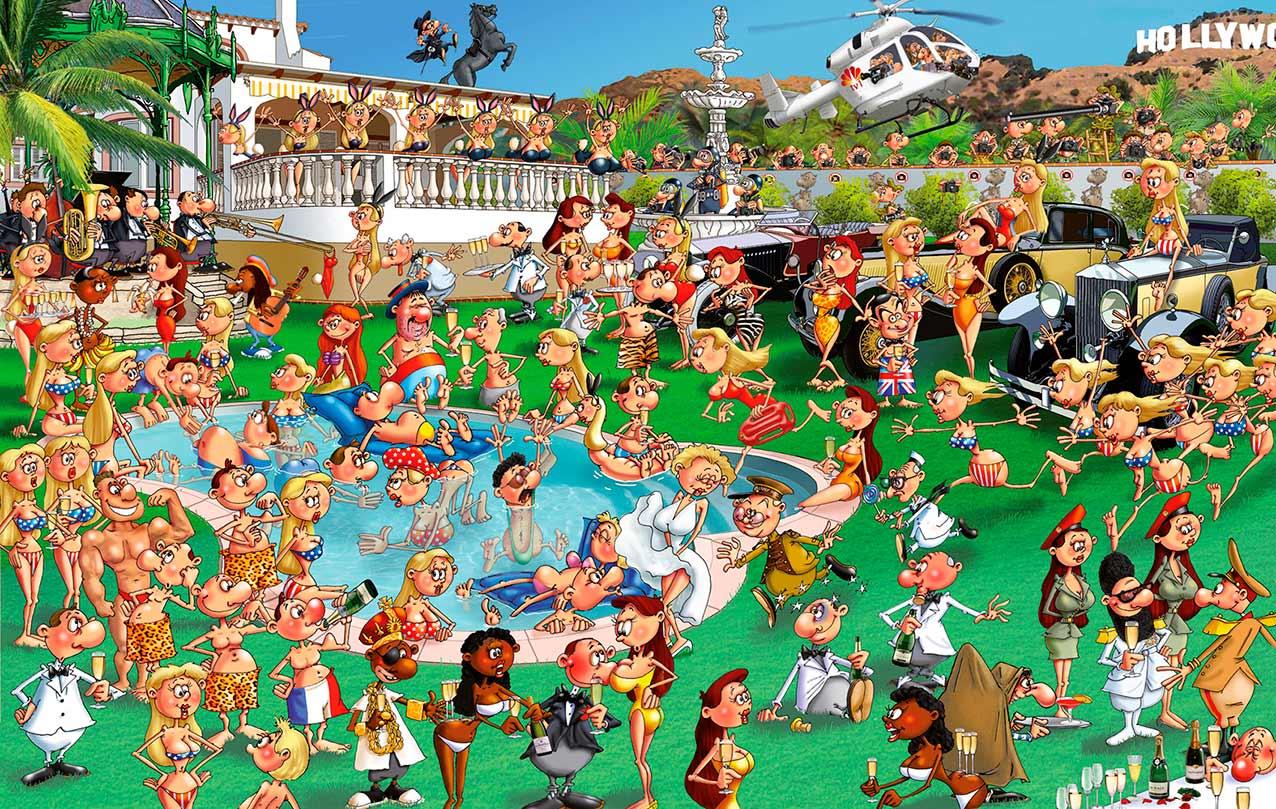Puzzle Piatnik La Fiesta de 1000 Piezas
