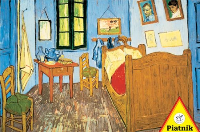 puzzles de Vincent Van Gogh, Puzzle Piatnik La Habitación de Arles de 1000 Piezas