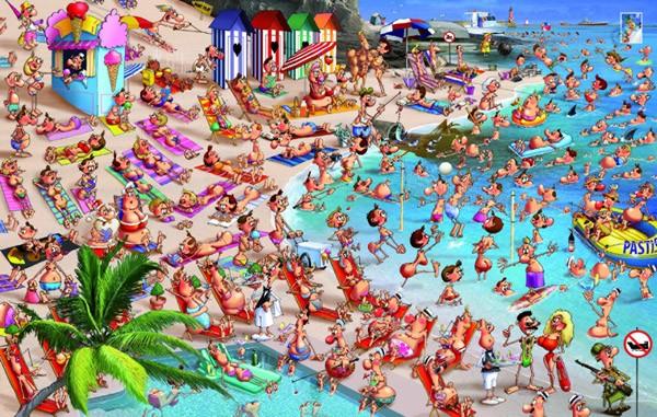Puzzle Piatnik La Playa de 1000 Piezas