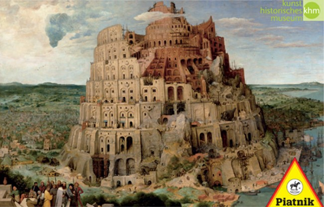 Puzzle Piatnik La Torre de Babel de 1000 Piezas