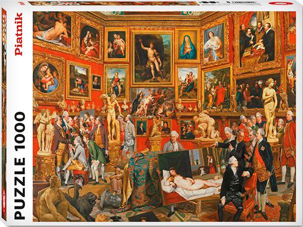 Puzzle Piatnik La Tribuna de los Uffizi de 1000 Piezas