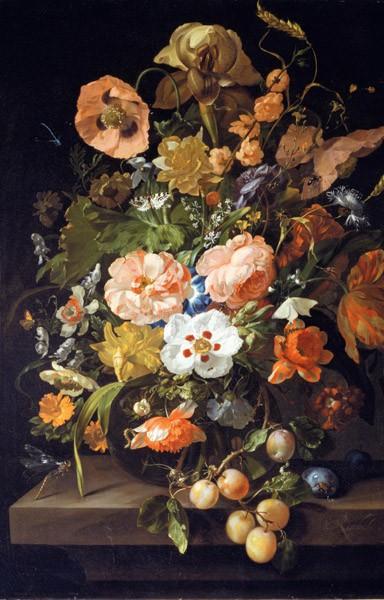 Puzzle Piatnik Naturaleza Muerta en Flores de 1000 Piezas