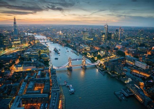Puzzle Piatnik Noche en Londres de 1000 Piezas