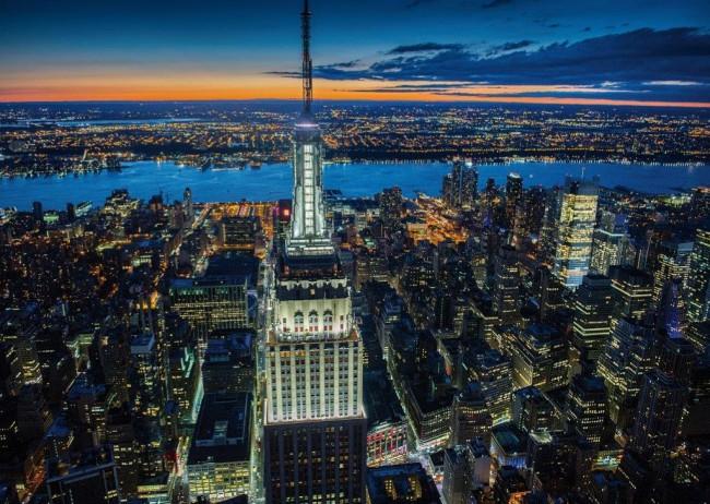 Puzzle Piatnik Noche en New York de 1000 Piezas