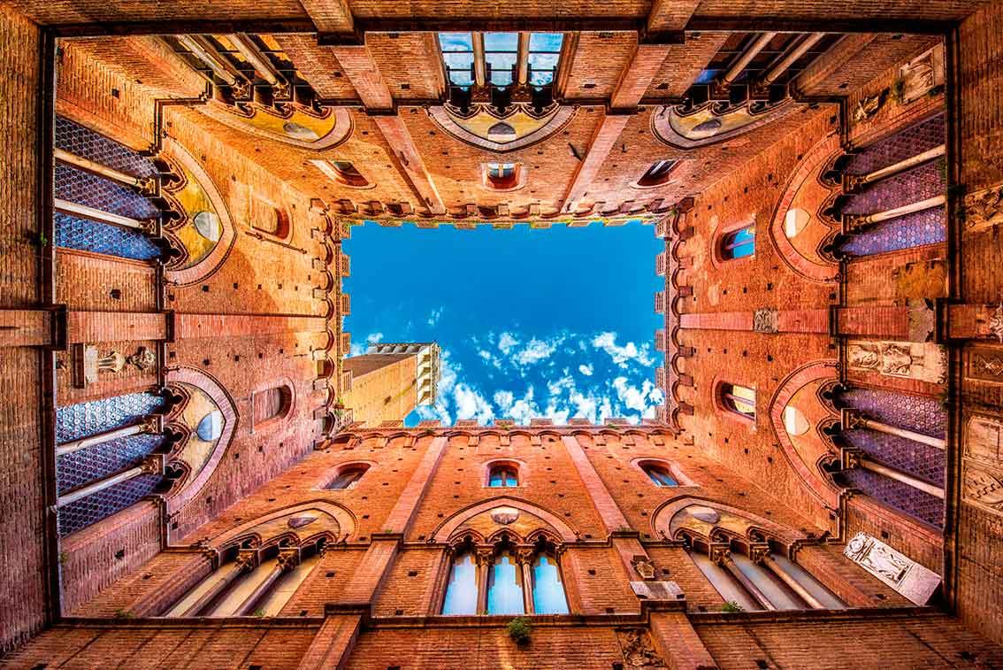 Puzzle Piatnik Palacio Público de Siena de 1000 Piezas