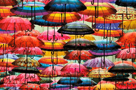 Puzzle Piatnik Paraguas de 1000 Piezas