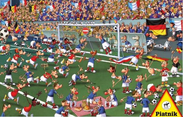Puzzle Piatnik Partido de Fútbol de 1000 Piezas
