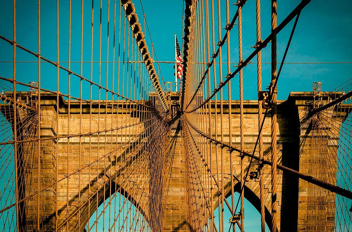Puzzle Piatnik Puente de Brooklyn de 1000 Piezas