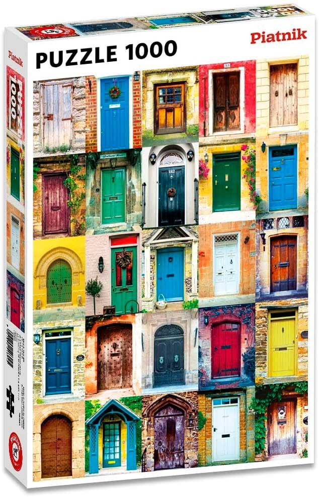 Puzzle Piatnik Puertas de 1000 Piezas