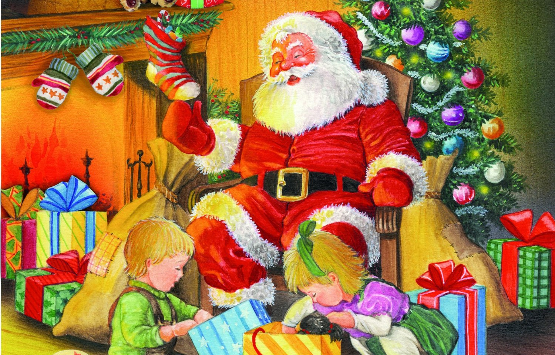Puzzle Piatnik Reparto de Regalos de Navidad de 1000 Piezas