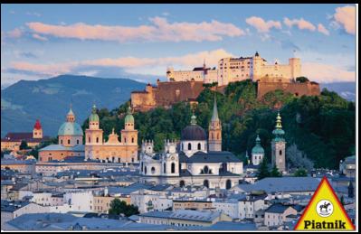Puzzle Piatnik Salzburgo, Munich de 1000 Piezas