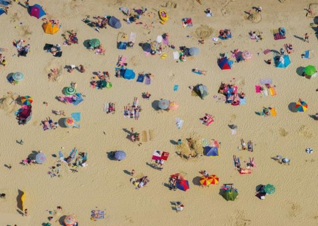 Puzzle Piatnik Vista Aérea de la Playa de 1000 Piezas