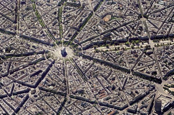 Puzzle Piatnik Vista Aérea de París de 1000 Piezas