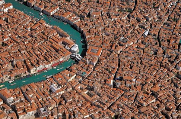 Puzzle Piatnik Vista Aérea de Venecia de 1000 Piezas