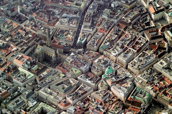 Puzzle Piatnik Vista Aérea de Viena de 1000 Piezas