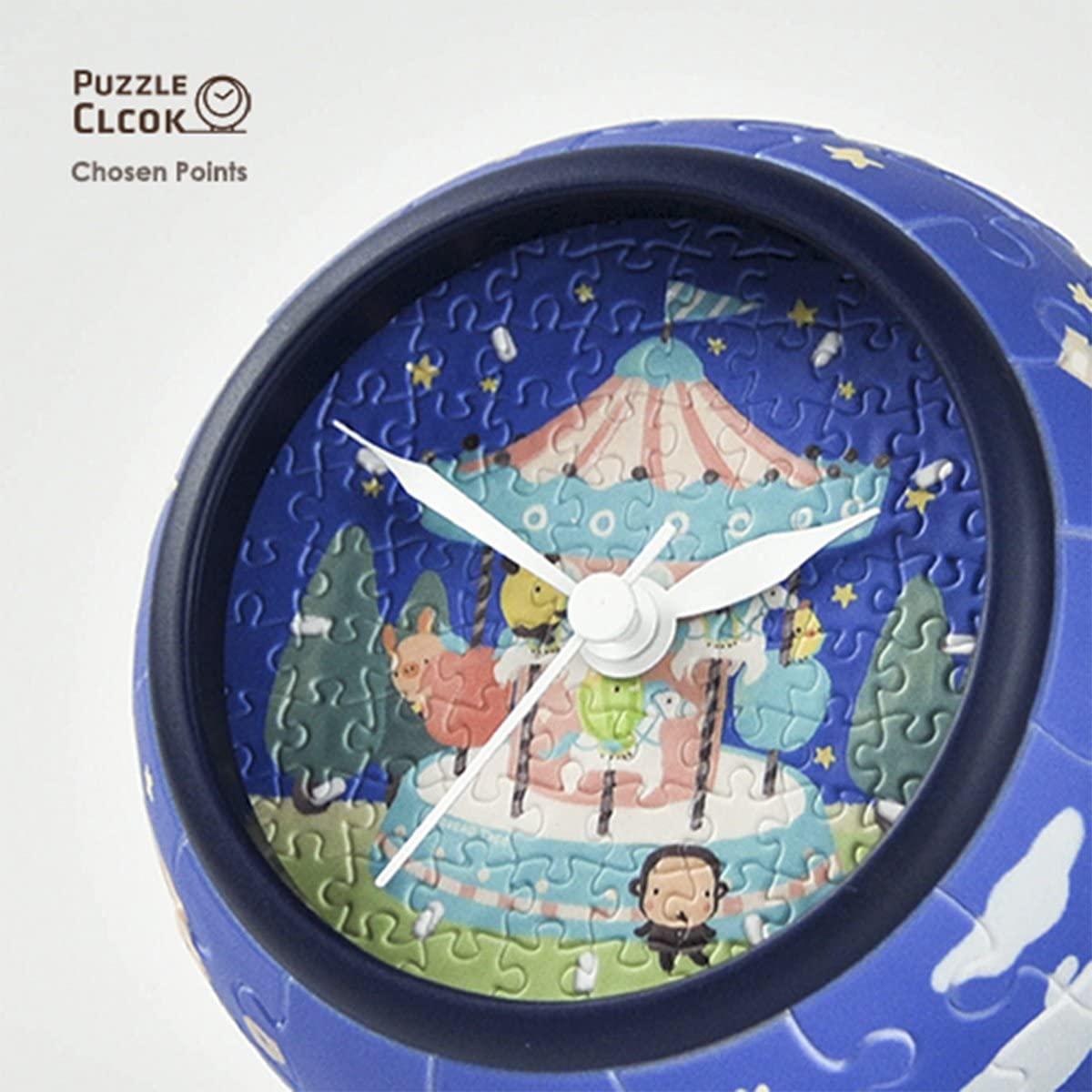 Puzzle Pintoo 3D Reloj Corazón Joven de 145 Piezas