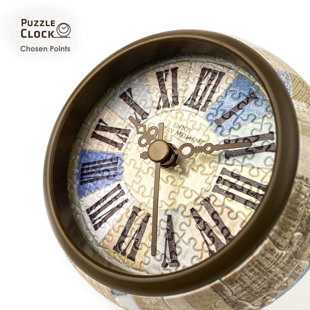 Puzzle Pintoo 3D Reloj Country Style de 145 Piezas