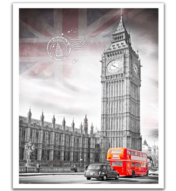 Puzzle Pintoo Big Ben, Inglaterra de 2000 Piezas