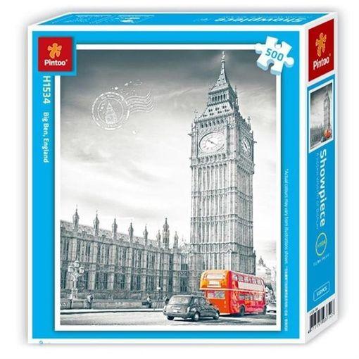 Puzzle Pintoo Big Ben, Inglaterra de 500 Piezas