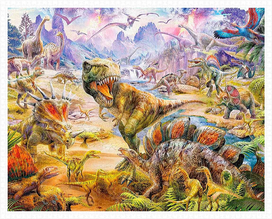 Puzzle Pintoo Dinosaurios de 2000 Piezas