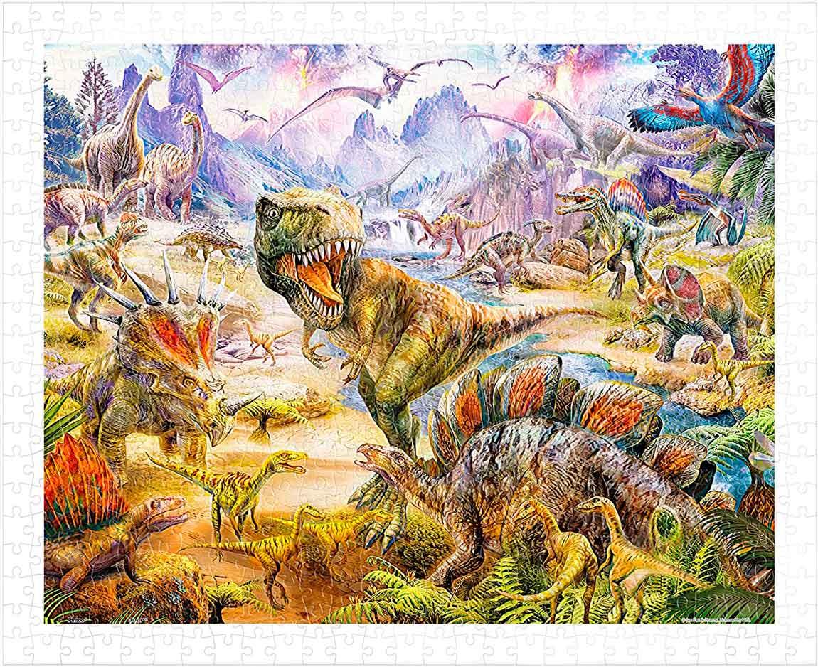 Puzzle Pintoo Dinosaurios de 500 Piezas