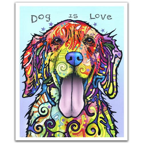 Puzzle Pintoo Dog Is Love de 2000 Piezas