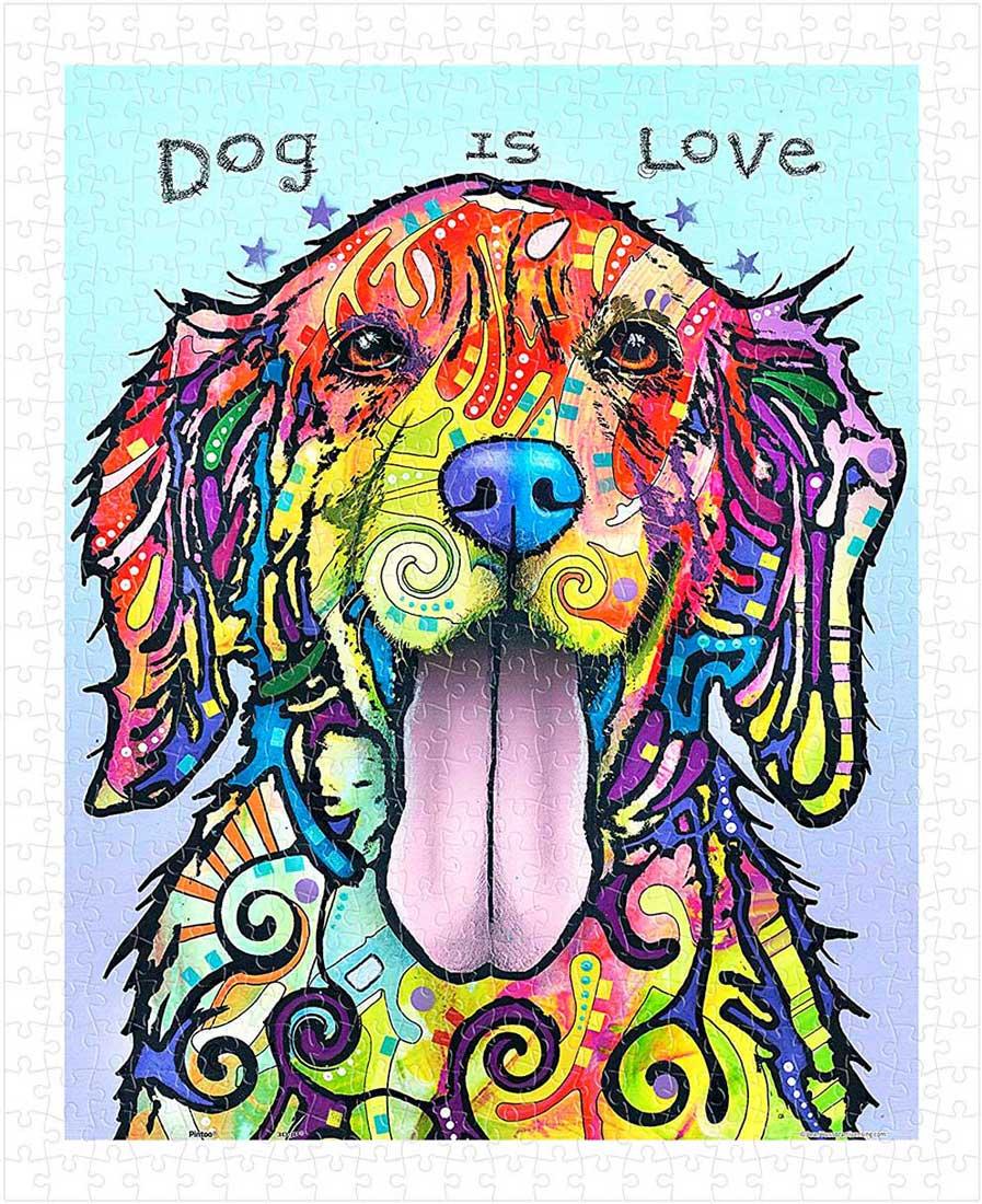 Puzzle Pintoo El Perro Es Un Amor de 500 Piezas