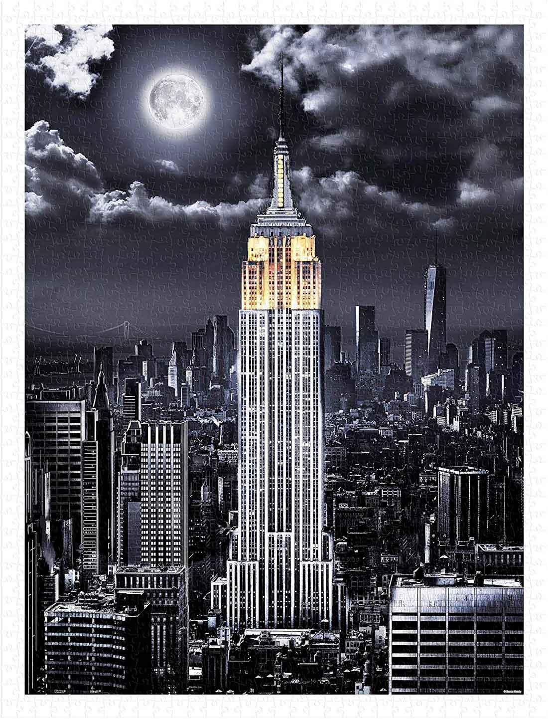 Puzzle Pintoo Empire State Building de Noche de 1200 Piezas