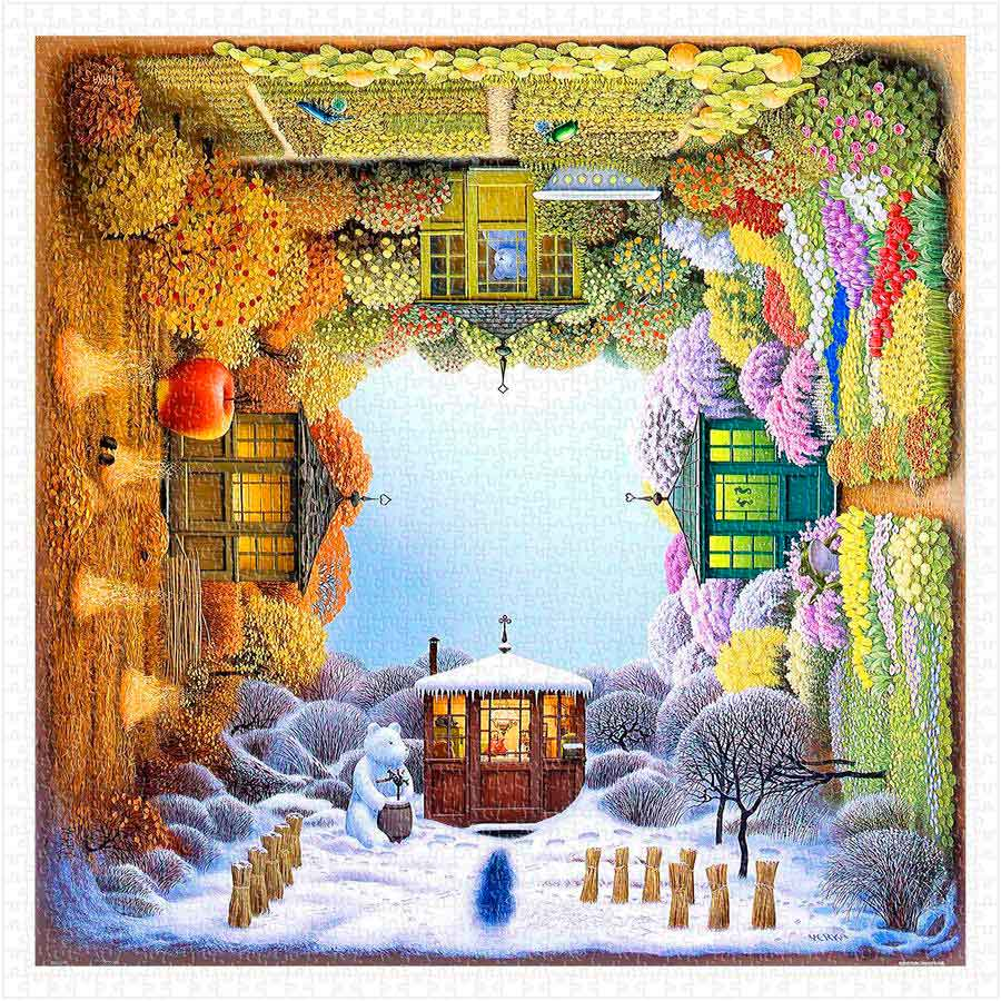 Puzzle Pintoo Las Cuatro Estaciones de 1600 Piezas
